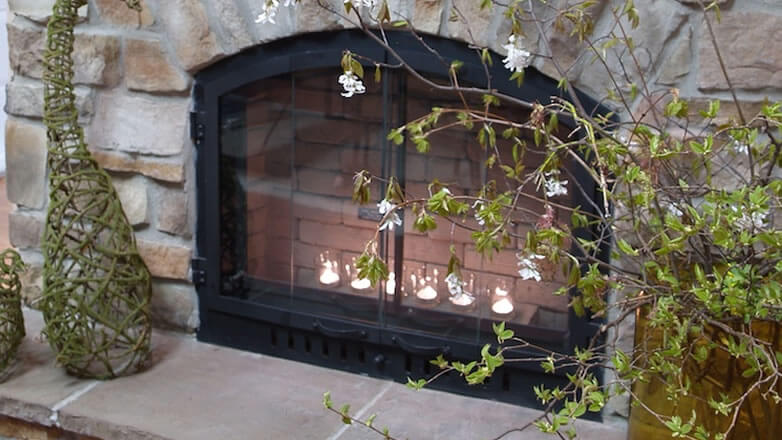 stone siding for fireplace